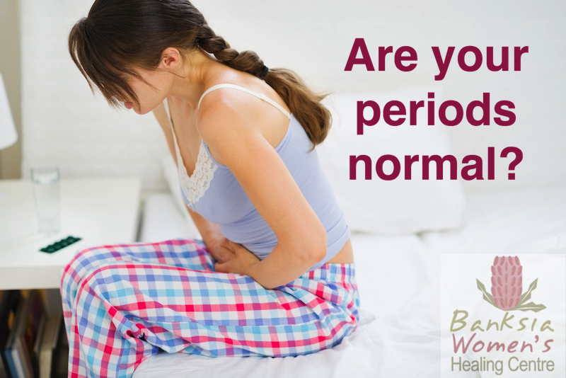Are your periods normal?