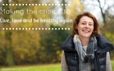 Making the choice to live, love and be healthy again.