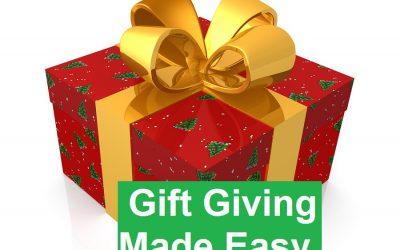 Christmas Gift Giving Made Easy