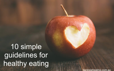 10 simple guidelines for Healthy Eating