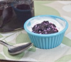 Blueberry and Ginger Chia Pudding