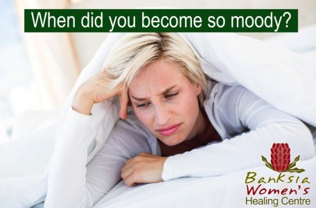 moody woman